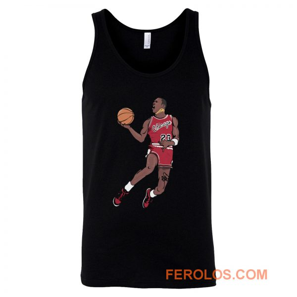 Michael Jordan NBA champion Tank Top