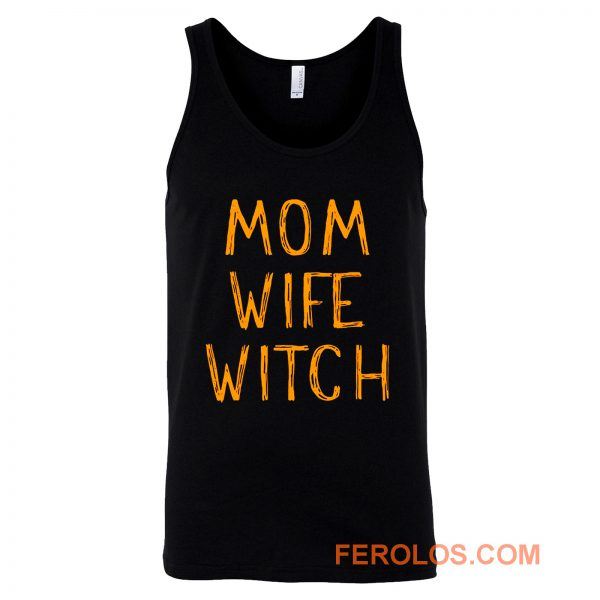 Mom Wife Witch Tank Top