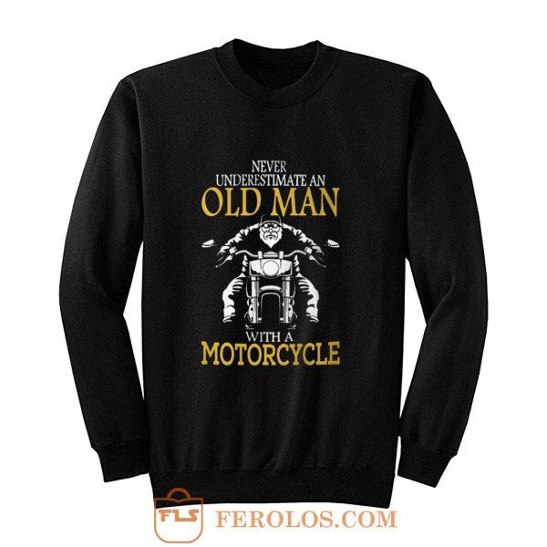 Motorcycle Old Man Sweatshirt