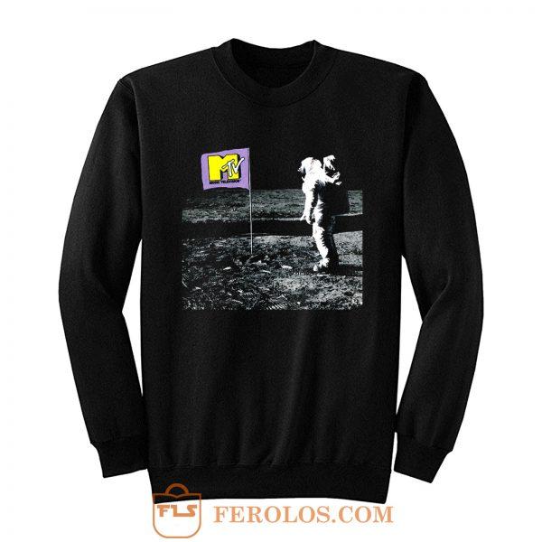 Mtv Moonman Logo Sweatshirt