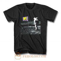 Mtv Moonman Logo T Shirt