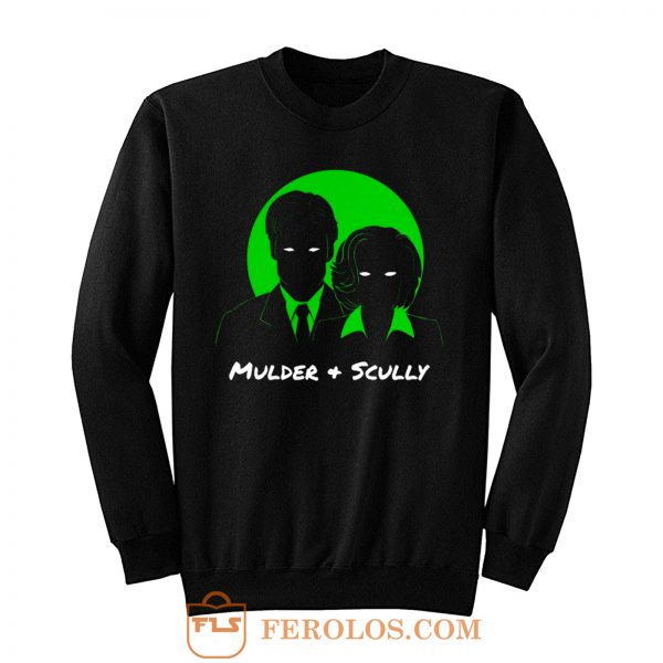 Mulder and Scully X Files Sweatshirt