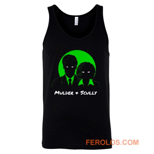 Mulder and Scully X Files Tank Top