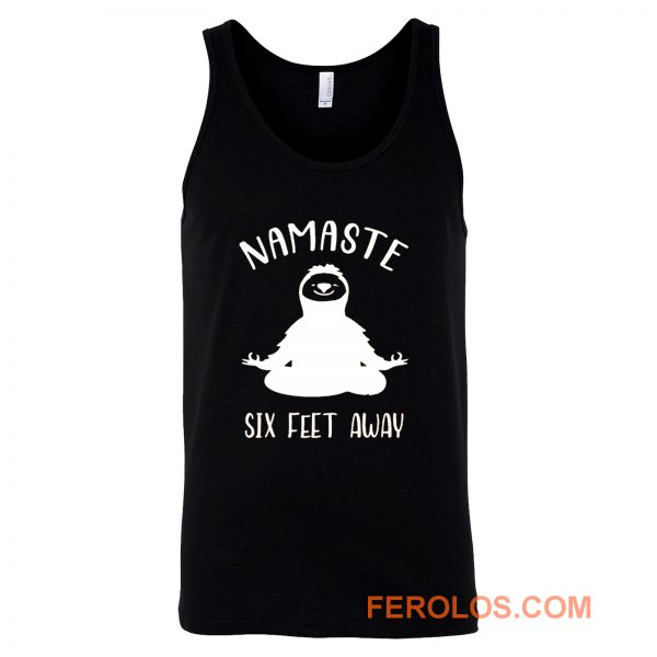Namaste Social Distancing Tank Top