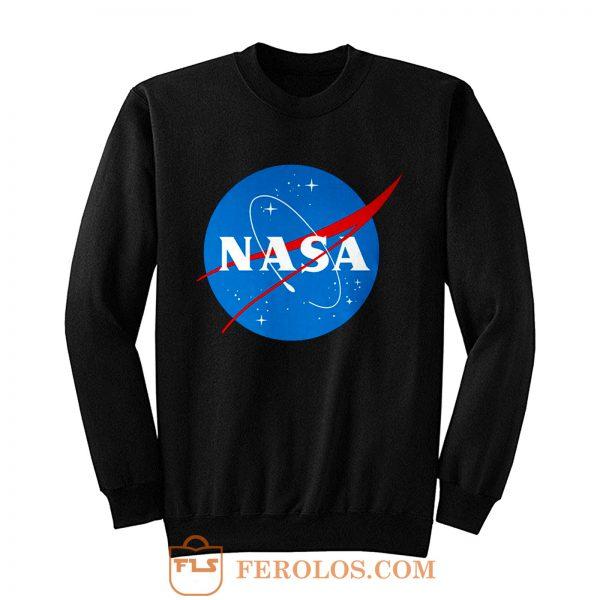Nasa Meatball Logo Worm Sweatshirt