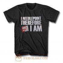 Needlepoint T Shirt