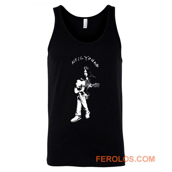 Neil Young Musician Tank Top