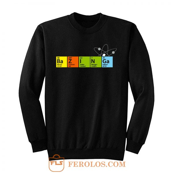 New Big Bang Theory Bazinga Cooper Sheldon Funny Sweatshirt