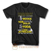 New Daddy Star Wars Jedi Father Day T Shirt