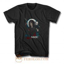 New Popular Alice Cooper Band Hes Back Horror Friday Mens Black T Shirt