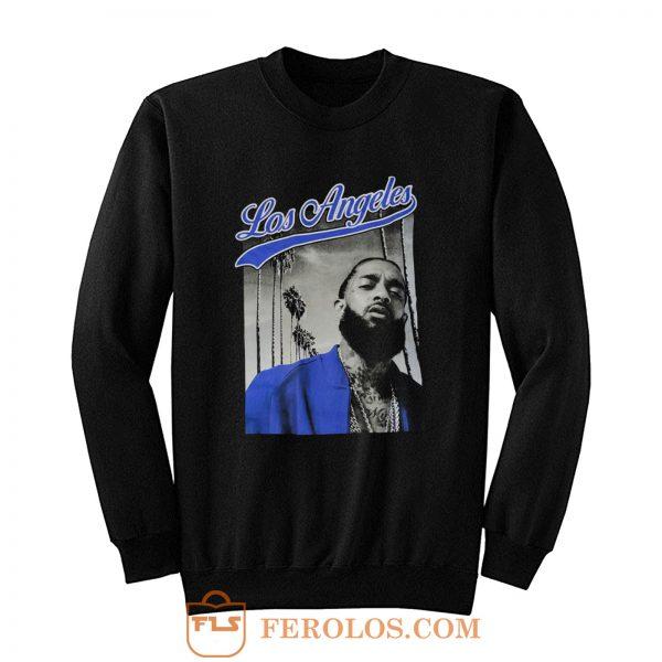 Nipsey Hussle Rapper Los Angeles Sweatshirt