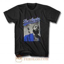 Nipsey Hussle Rapper Los Angeles T Shirt