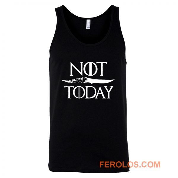 Not Today Dagger Tank Top