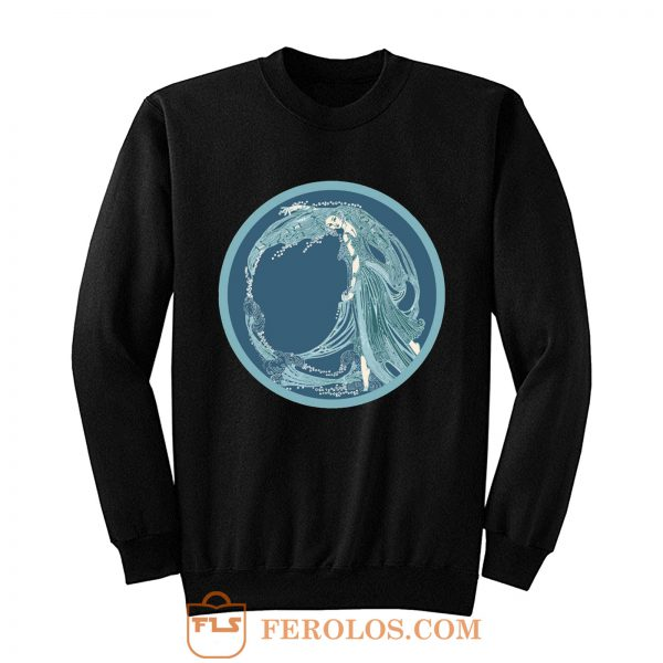Nymph Ocean Spirit River Goddess Nature Spirit Sweatshirt