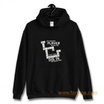 Old Domino Player Dominoes Tiles Puzzler Game Hoodie