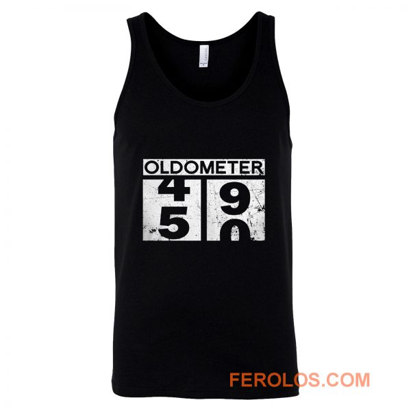 Oldometer 50th Birthday Counting 49 50 Tank Top