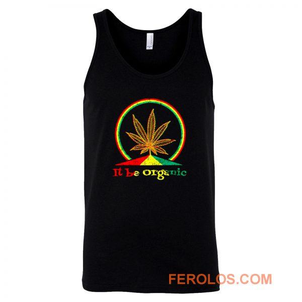 Organic Marijuana Plant Tank Top