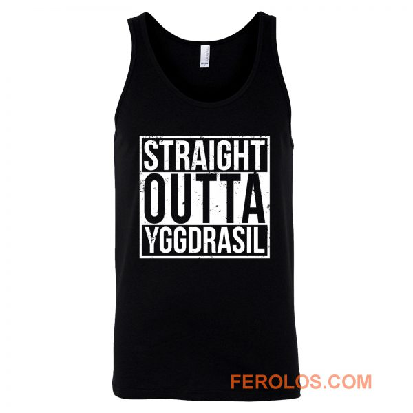 Overlord Straight Outta YGGDRASIL Tank Top