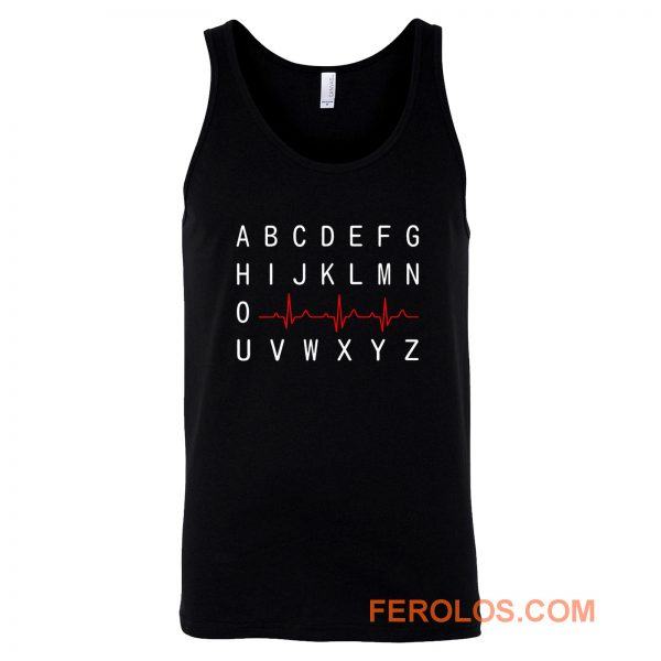 PQRST Nurse Appreciation Tank Top