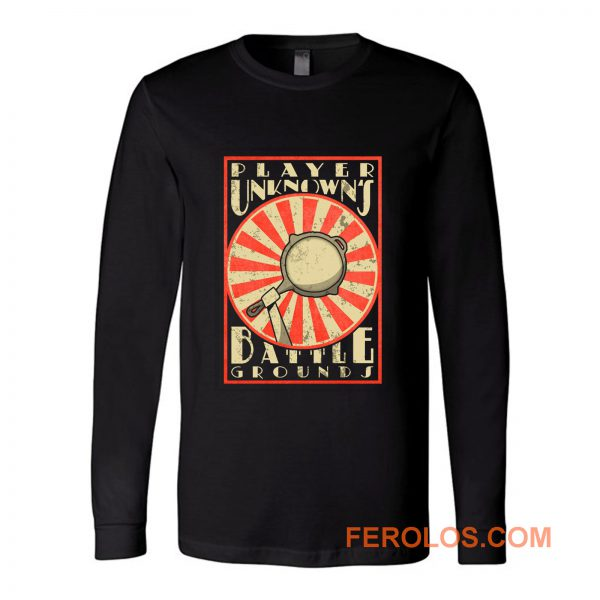PUBG Player Unknows Battle Ground Japan Style Long Sleeve