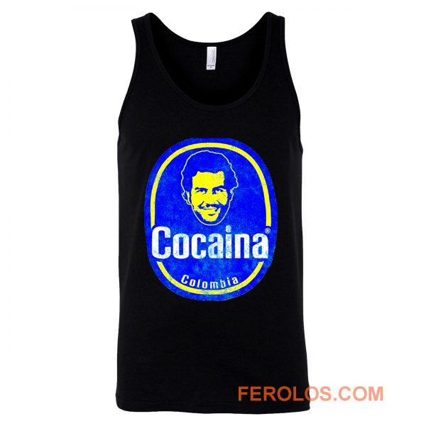 Pablo Escobar Colombia Cocaina Cool Tank Top