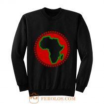 Pan African Egyptian Ankh African Sweatshirt