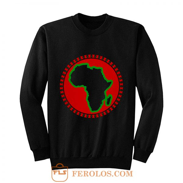 Pan African Egyptian Ankh African Sweatshirt