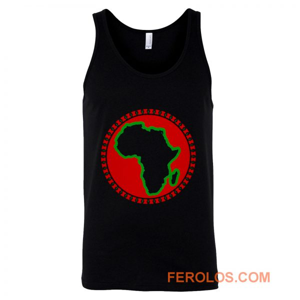 Pan African Egyptian Ankh African Tank Top