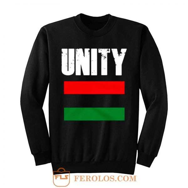 Pan African Unity Flag African Flag Sweatshirt