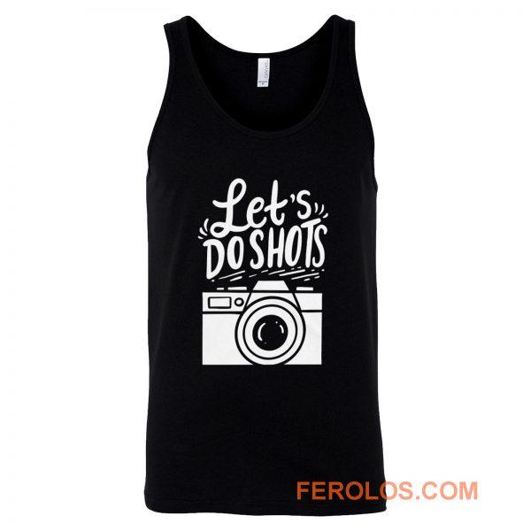 Photography Cameraman Tank Top