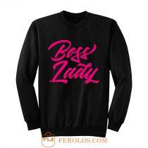 Pinky Boss Lady Sweatshirt