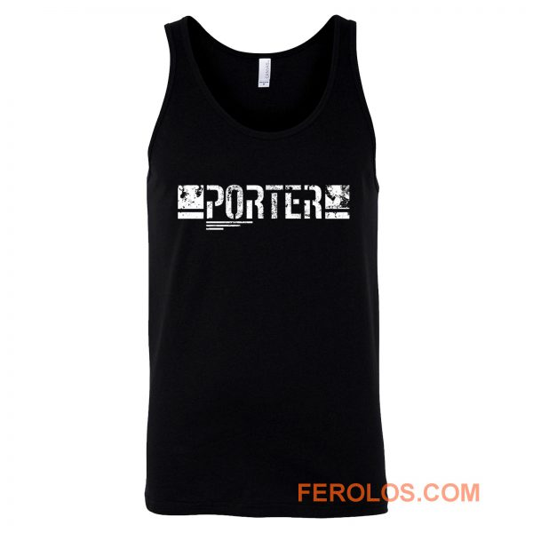 Porter Death Stranding Gaming Tank Top