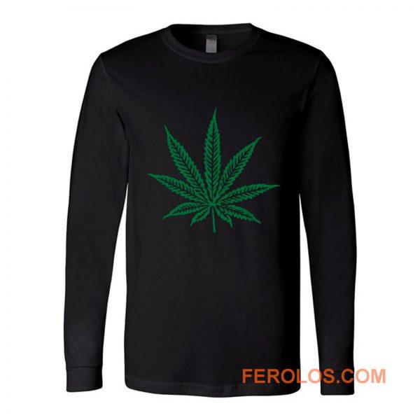 Pot Leaf Marijuana Long Sleeve