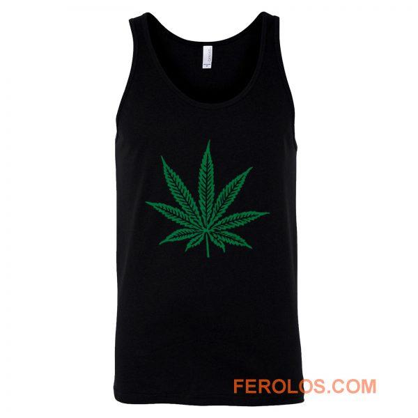 Pot Leaf Marijuana Tank Top