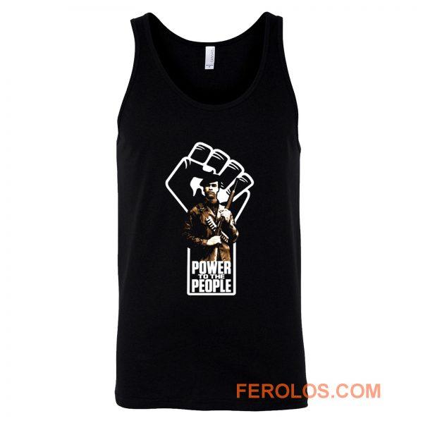 Power to The People Huey P Newton Tank Top