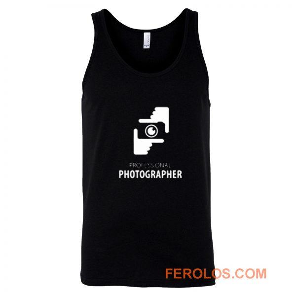 Professional Photograper Tank Top