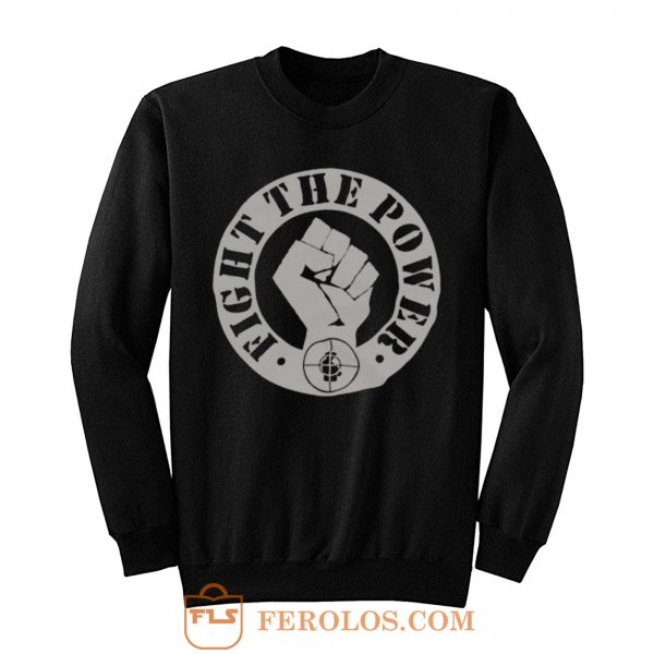Public Enemy Fight The Power Iconic American Hip Hop Sweatshirt