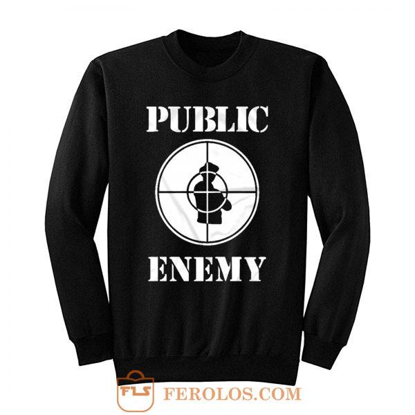 Public Enemy Shot Target Sweatshirt