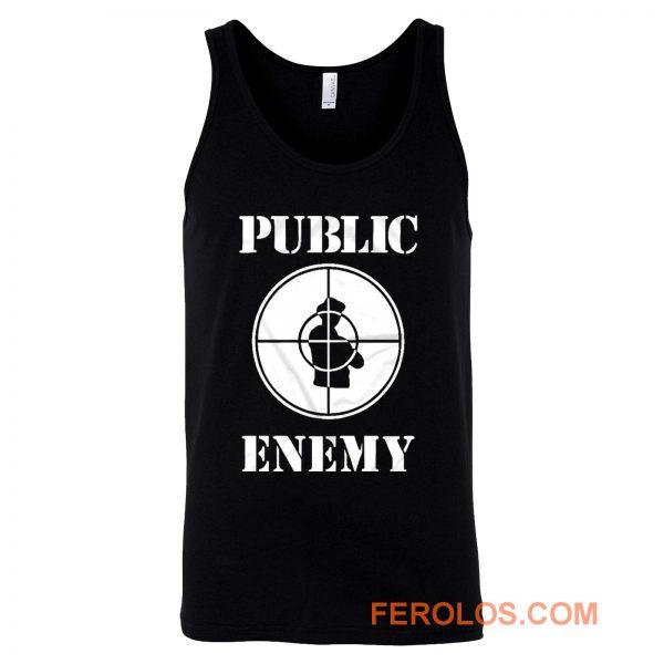 Public Enemy Shot Target Tank Top