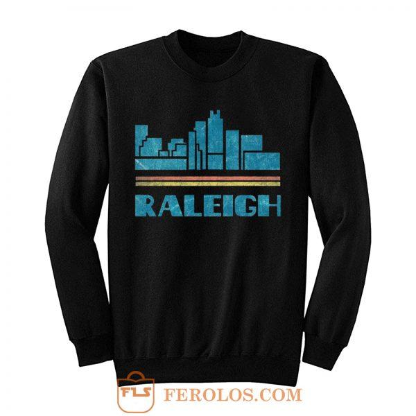 Raleigh City North Carolina Nc Skyline Sweatshirt