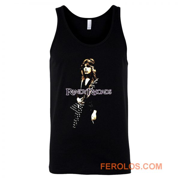 Randy Rhoads Hard Rock Guitarist Tank Top