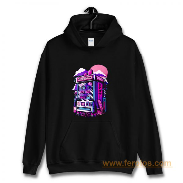 Retro Japan Gaming Machine Hoodie