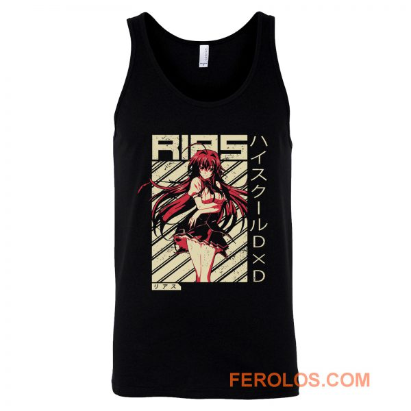 Rias Gremory High School Tank Top