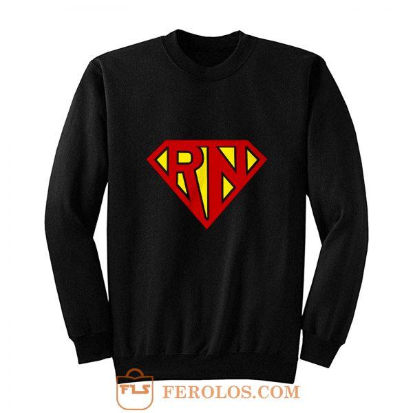 Rn Parody Super Hero Sweatshirt