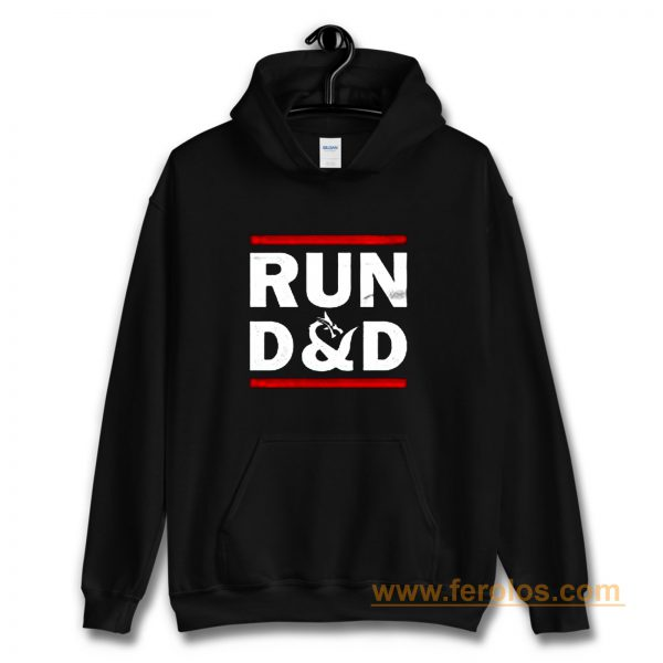 Run D And D Funny Board Game Hoodie