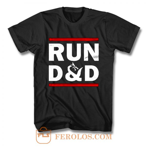 Run D And D Funny Board Game T Shirt
