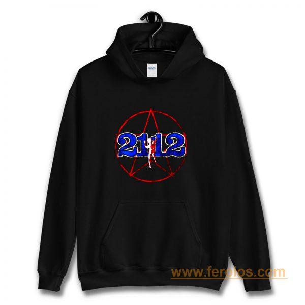 Rush 2112 Tour 1976 Brand New Authentic Rock Hoodie