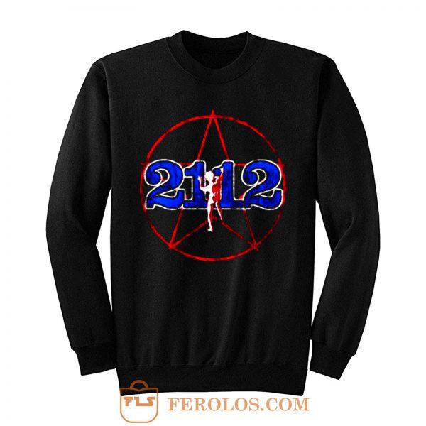 Rush 2112 Tour 1976 Brand New Authentic Rock Sweatshirt