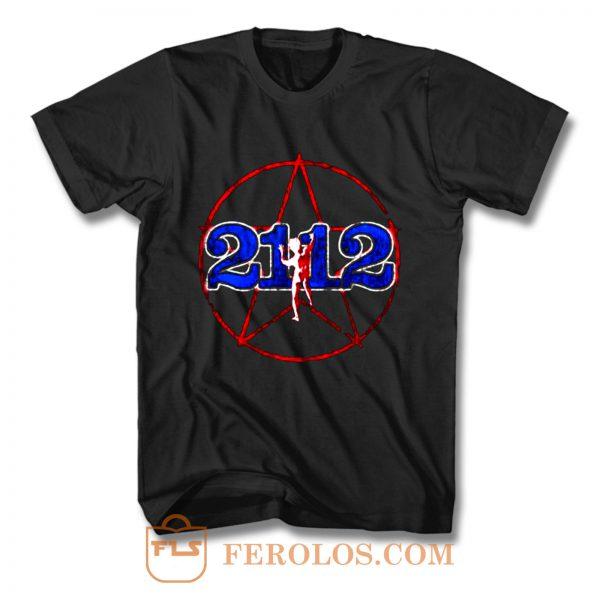 Rush 2112 Tour 1976 Brand New Authentic Rock T Shirt