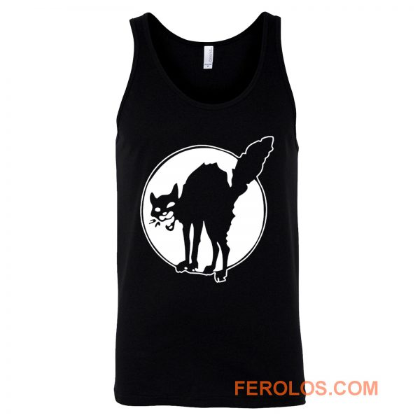 Sabotage Black Cat Angry Tank Top